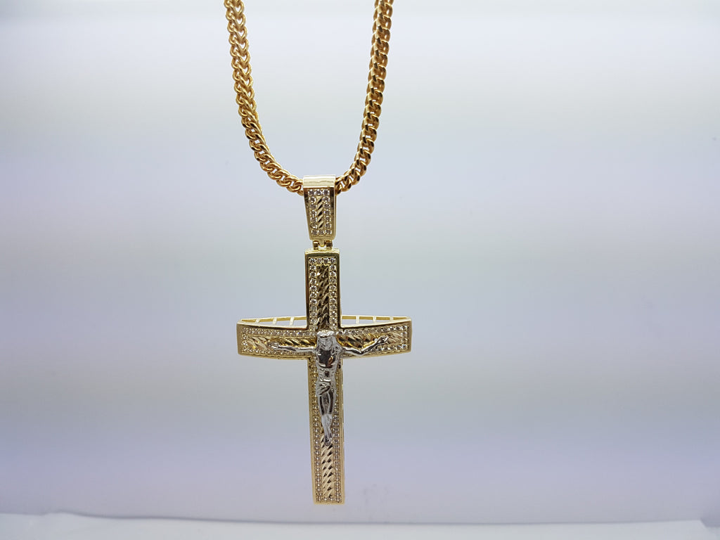 10k Yellow Gold Franco Chain Yochanan Jumbo Necklace - Solid Gold Online