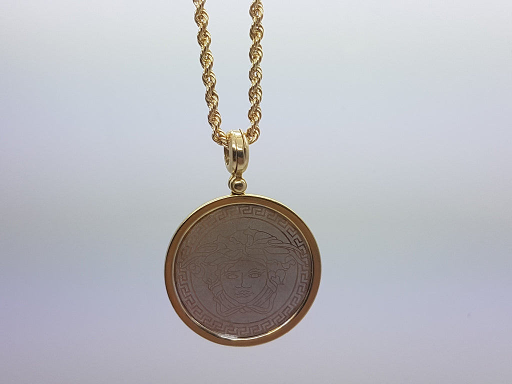 10k Yellow Gold Rope Chain Andrew Necklace - Solid Gold Online