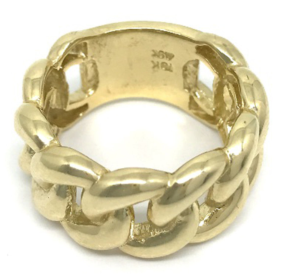 Solid Gold Engagement 10K Yellow Gold 12 0 Grams Ring for Men