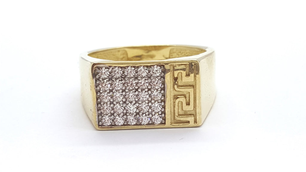 Alicante 10k Gold 6.5 Grams Men Ring