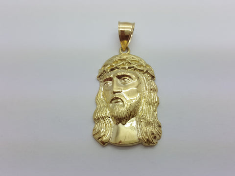 Jesus Michele 10K Yellow Gold 6.1 Gr Men Pendant - Solid Gold Online