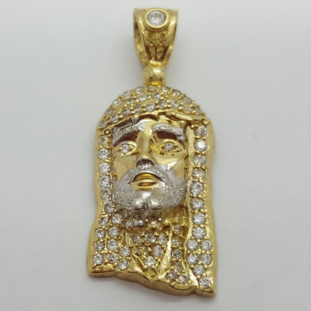 Jesus Luka 10K Yellow Gold 4.4 Gr Men Pendant