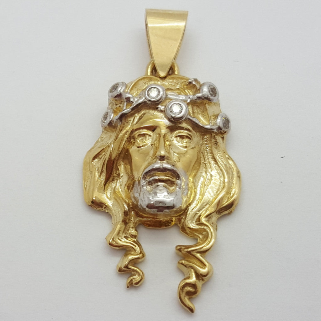 Jesus Maximo 10K Yellow Gold 7.5 Gr Men Pendant - Solid Gold Online