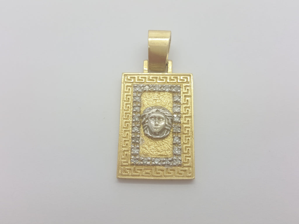 Arietta 10K Yellow Gold 12.2 Gr Men Pendant
