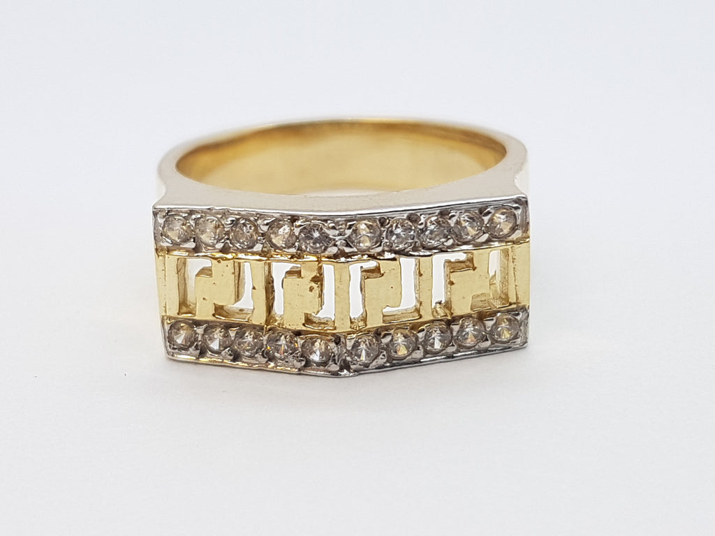 Valeria 10K Solid Yellow Gold Women Ring - Solid Gold Online