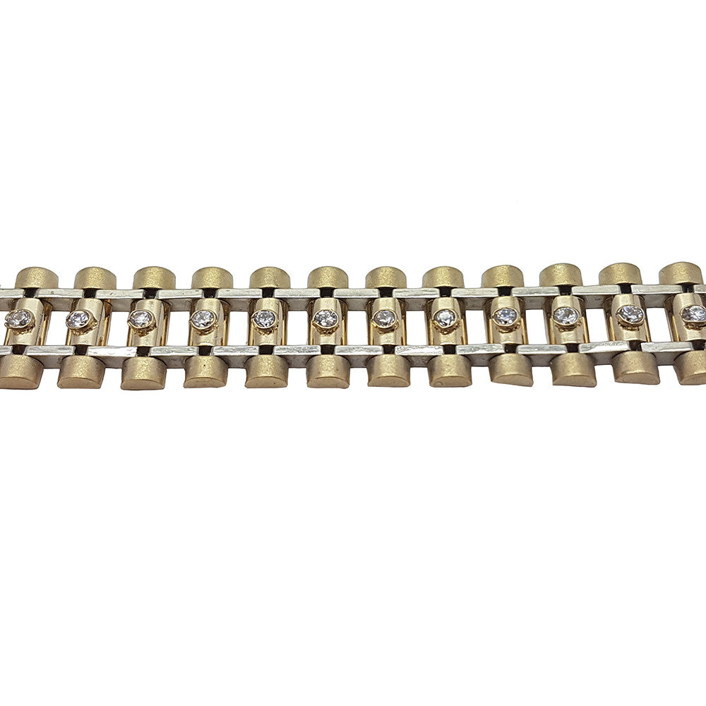 10K Yellow Gold Matheo Bracelet 8.5 - Solid Gold Online