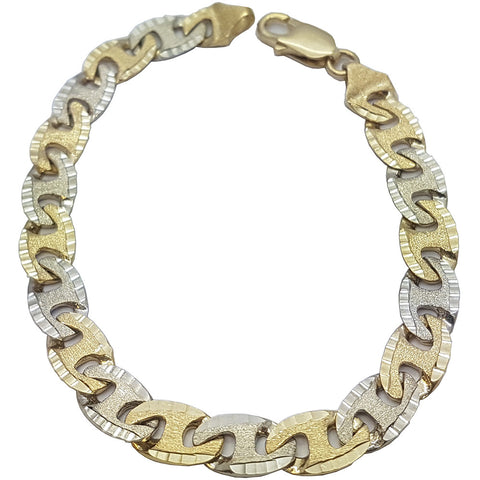 10K Yellow Gold Nolan Bracelet 8.5