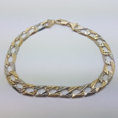 10K Yellow Gold Raphael Bracelet 8.1