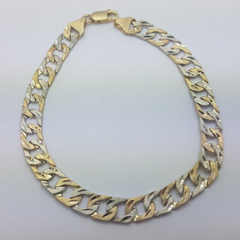 10K Yellow Gold Maximilian Bracelet 8.7