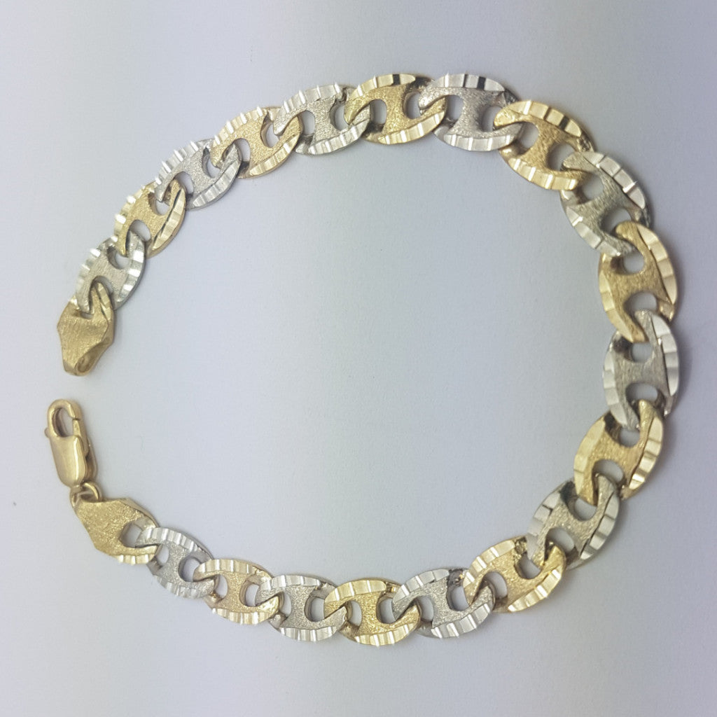 10K Yellow Gold Lukas Bracelet 8.9