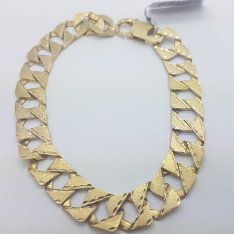 10K yellow Gold Bence Bracelet 8.2