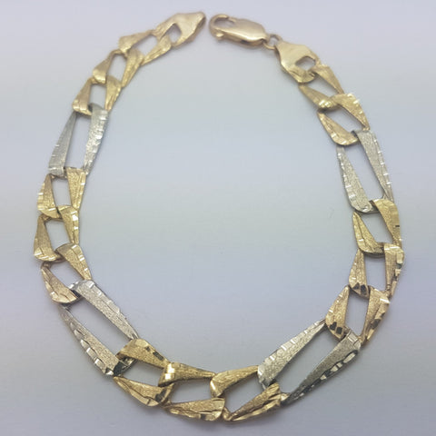 10K yellow Gold Francesco Bracelet 8.4