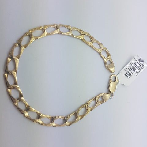 10K yellow Gold Davide Bracelet 8