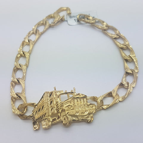 10K yellow Gold Mantas Bracelet 9