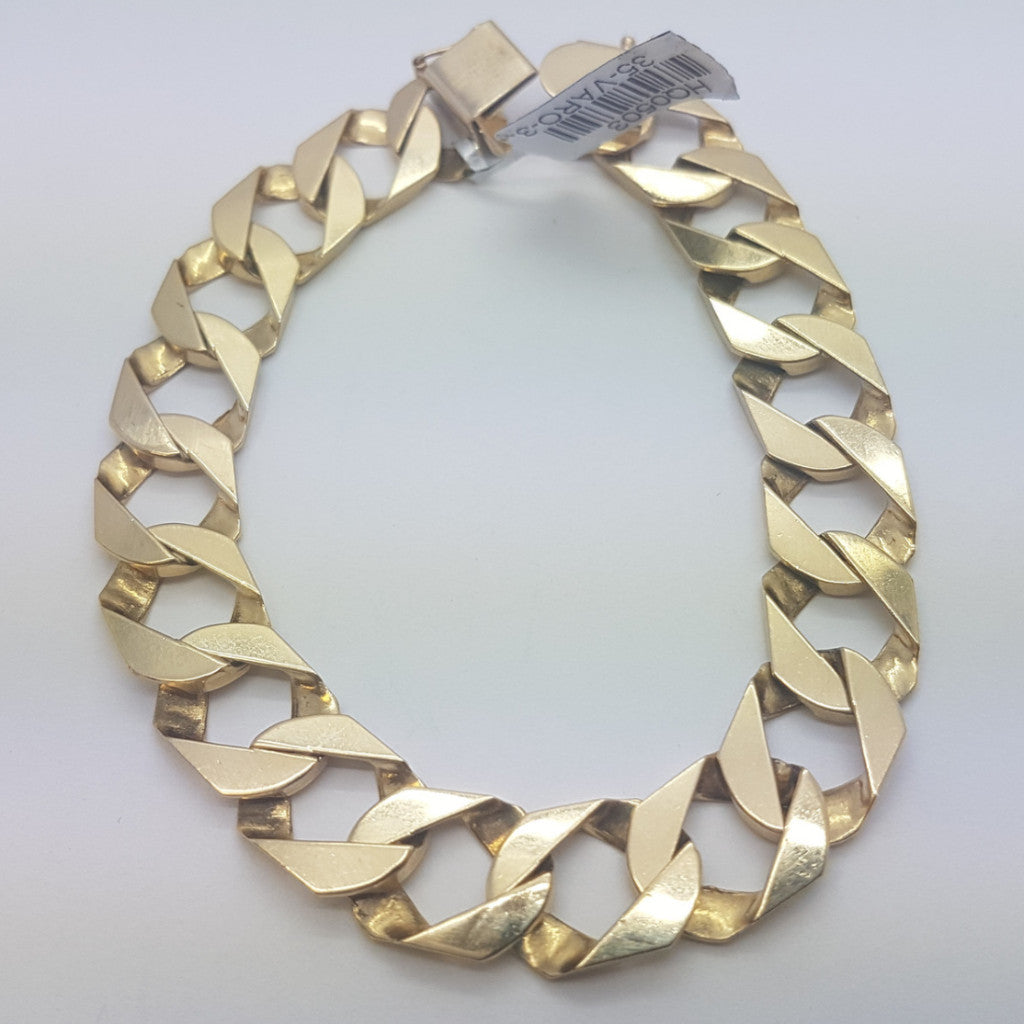 10K yellow Gold Harry Bracelet 8.12 - Solid Gold Online