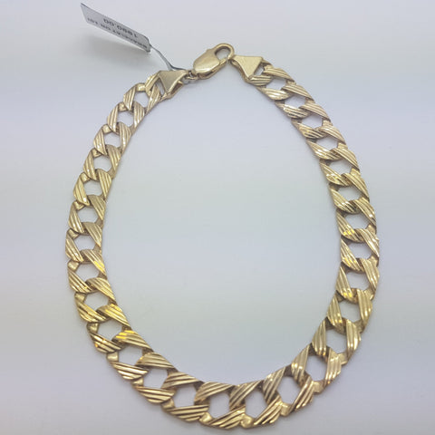 10K yellow Gold Samuel Bracelet 10.8