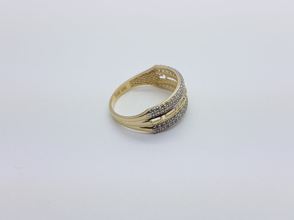 Libby 10K Yellow Solid Gold Women Ring - Solid Gold Online