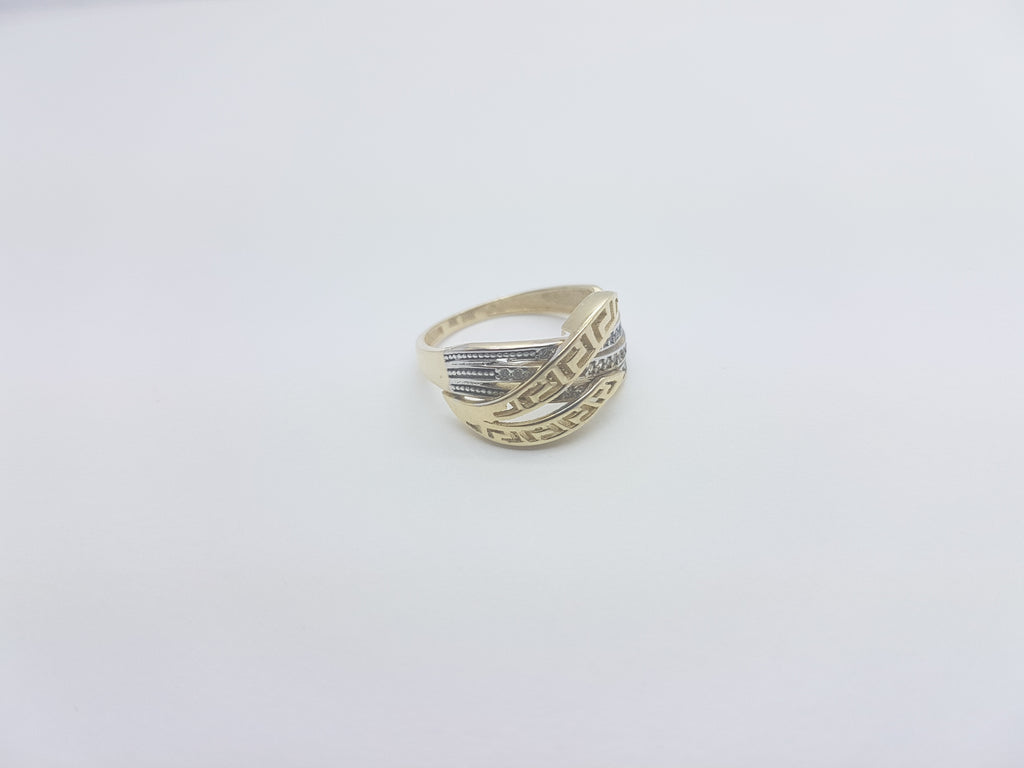 Ariel 10K Yellow Solid Gold Women Ring - Solid Gold Online