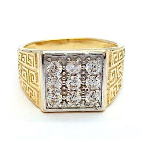Fabio 10k Gold 4.5 Grams Men Ring