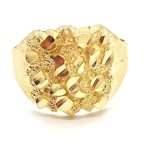 Scarface 10k Gold 3.5 Grams Men Ring - Solid Gold Online