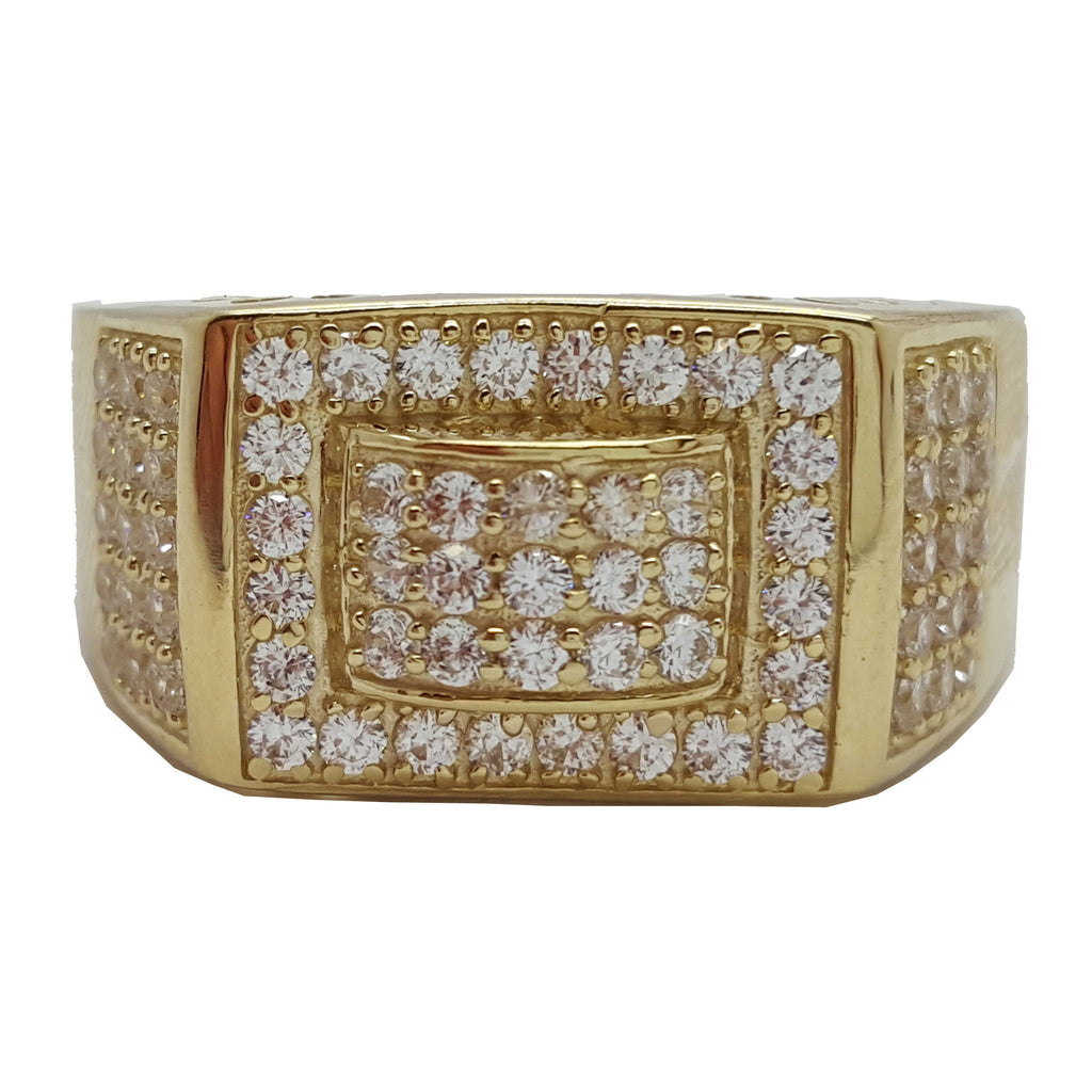 Crivitz 10K Gold Men Rings