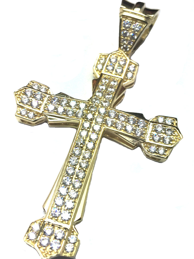 Cross Assisi 10K Yellow Gold 10.5 Gr Men Pendant