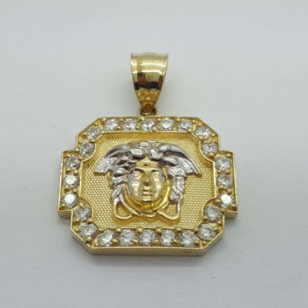 Flamma 10K Yellow Gold 2.79 Gr Men Pendant - Solid Gold Online