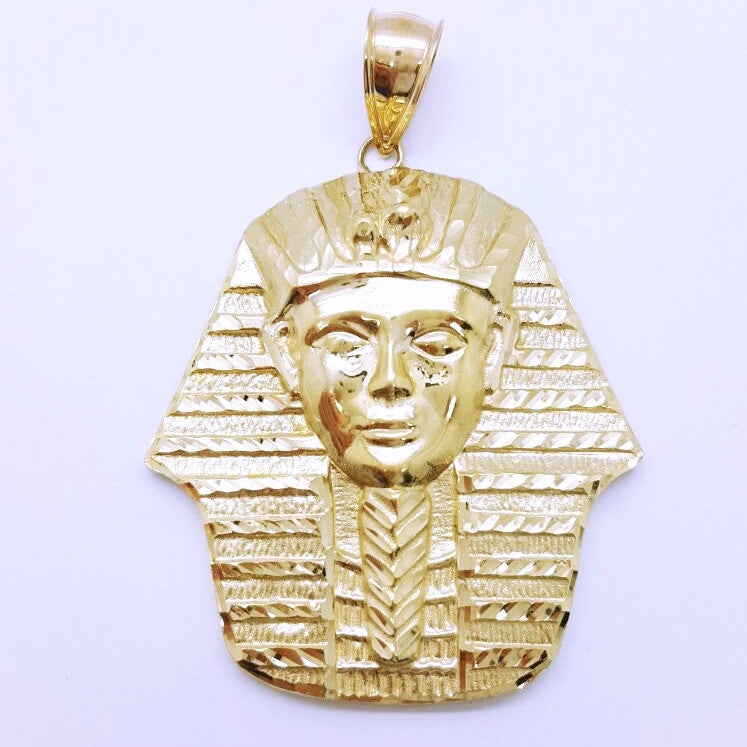 Pharaoh Trani 10K Yellow Gold 10.66 Gr Men Pendant