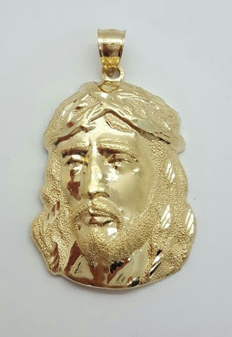 Jesus Pavia 10K Yellow Gold 4.51 Gr Men Pendant