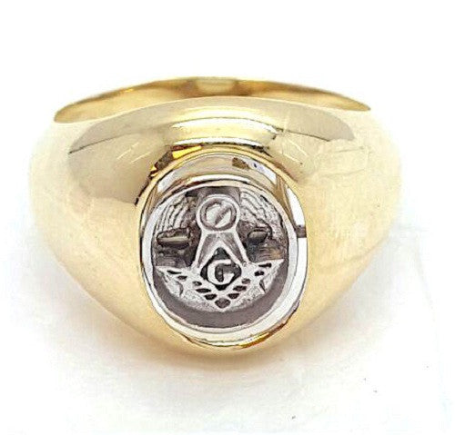 Illuminati 10k Gold 8.5 Grams Men Ring - Solid Gold Online
