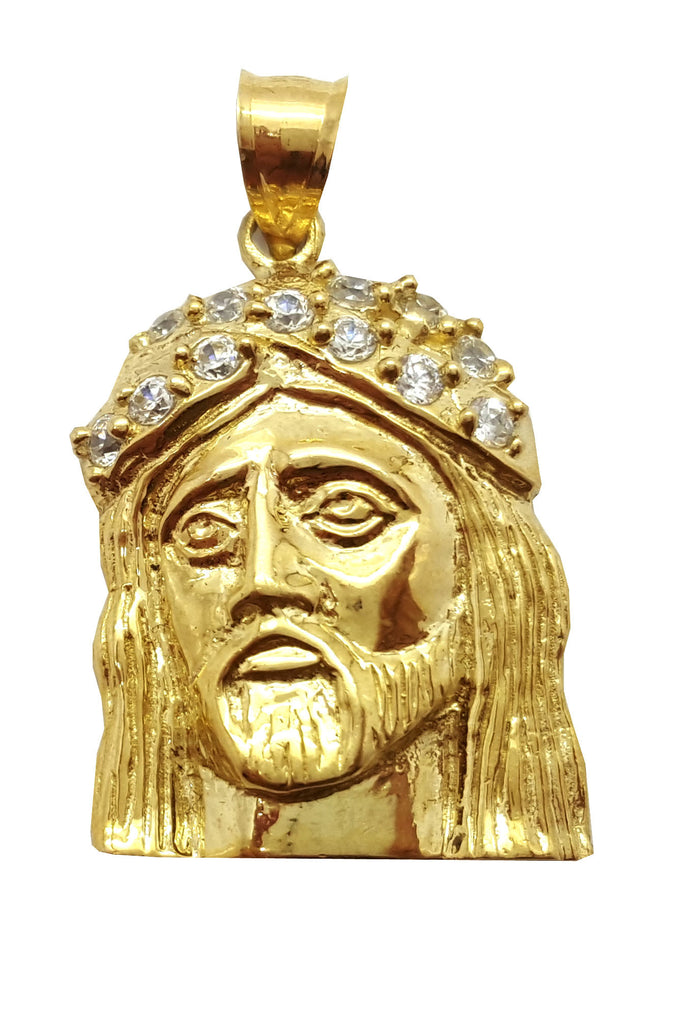 Jesus Basilio 10K Yellow Gold 5.2 Gr Men Pendant
