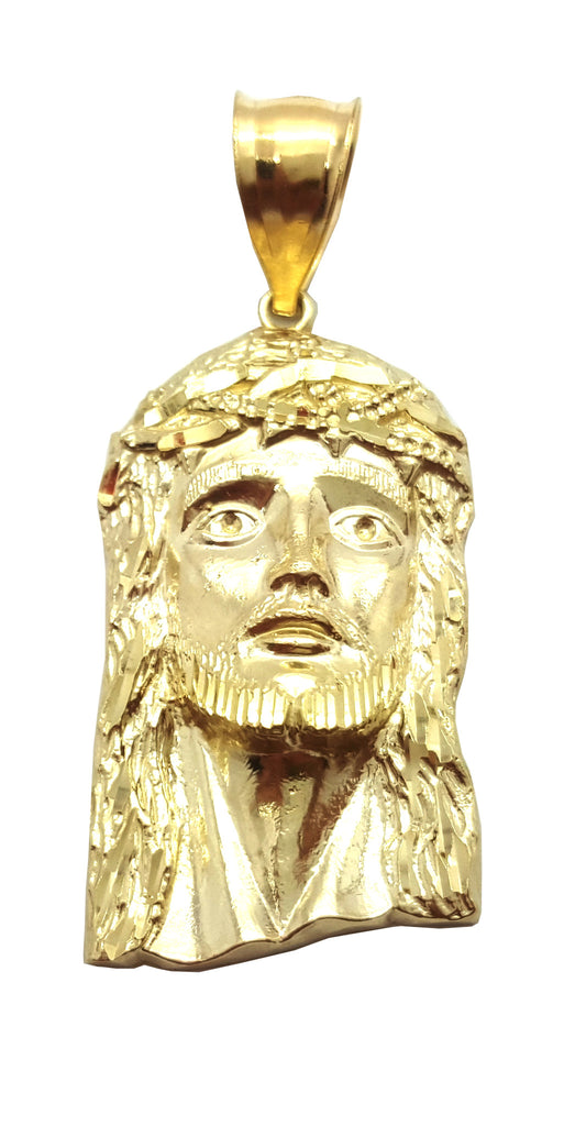 Jesus Kara 10K Yellow Gold 3.7 Gr Men Pendant - Solid Gold Online