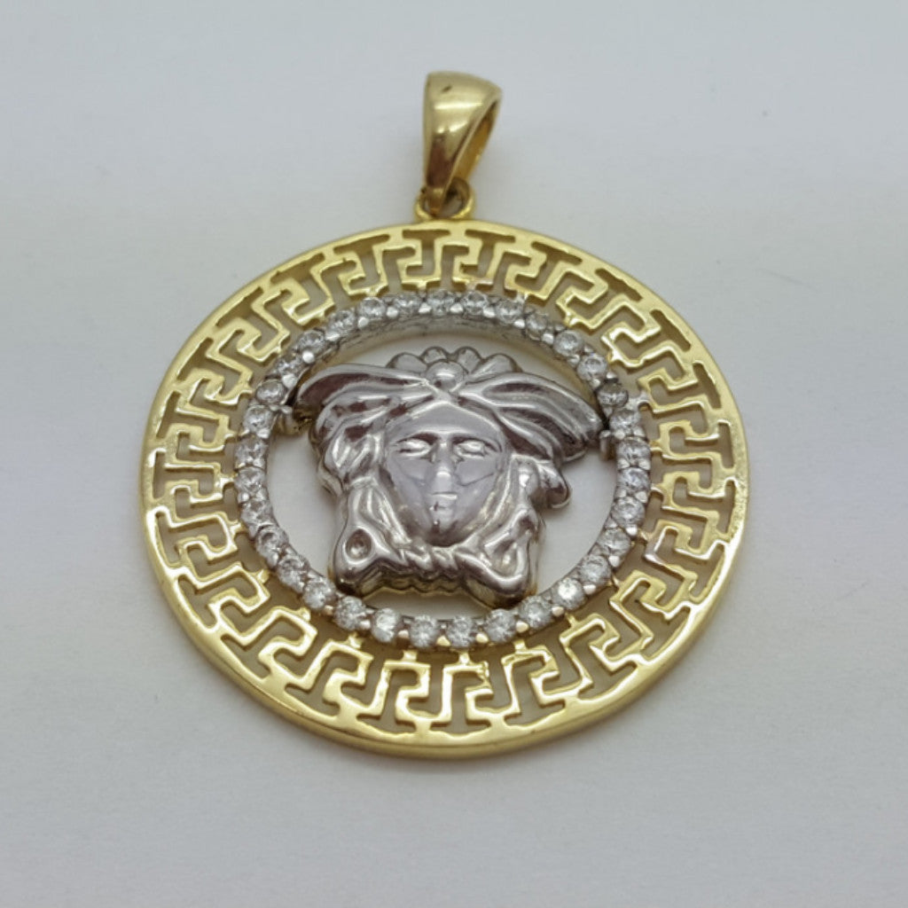 Oria 10K Yellow Gold 2.58 Gr Men Pendant - Solid Gold Online