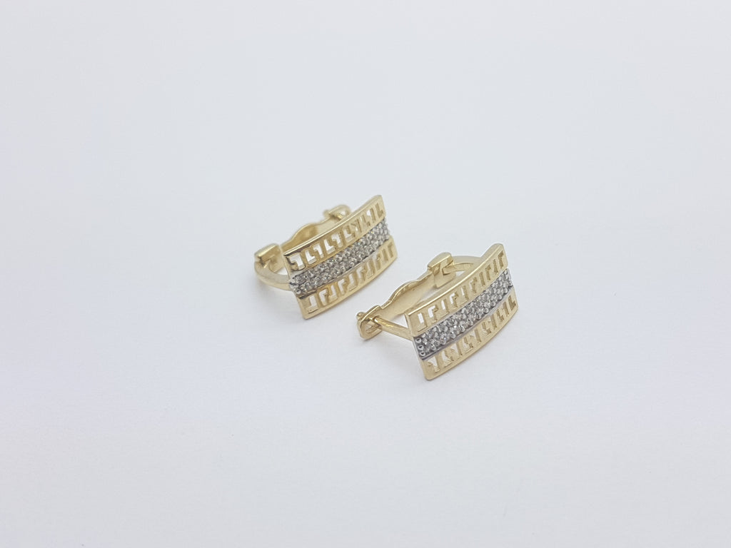 Belle 10K Yellow Solid Gold Women Earring - Solid Gold Online