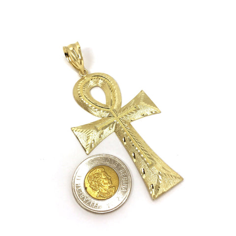 Tau cross 10k yellow gold pendant solid gold online tau cross 10k yellow gold pendant mozeypictures Image collections