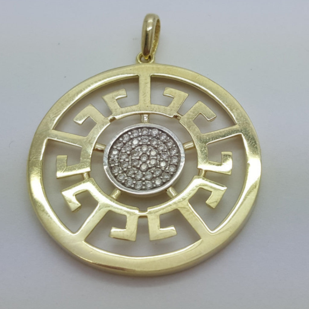 VICENZA 10K Yellow Gold 4.4 Gr Men Pendant - Solid Gold Online