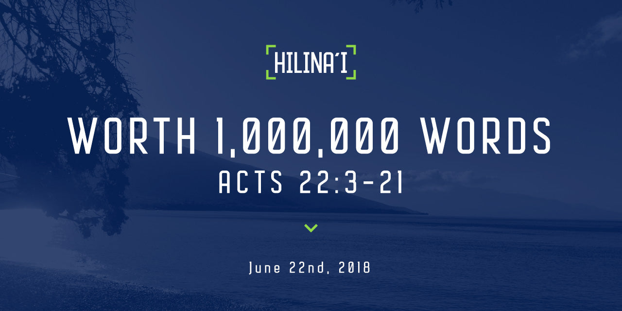 Hilinaʻi #8: Worth 1,000,000 Words