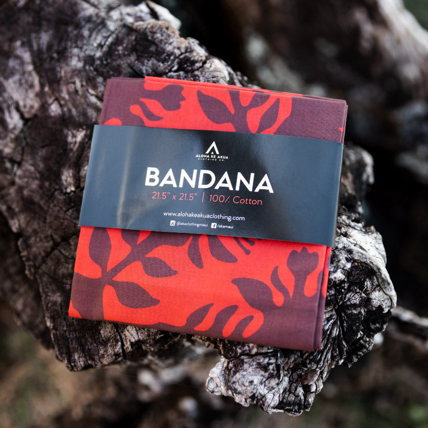 Bandana Lehua Packaging