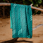 Lau Hala Beach Towel Hanging