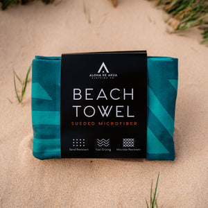 Lau Hala Beach Towel Packaging
