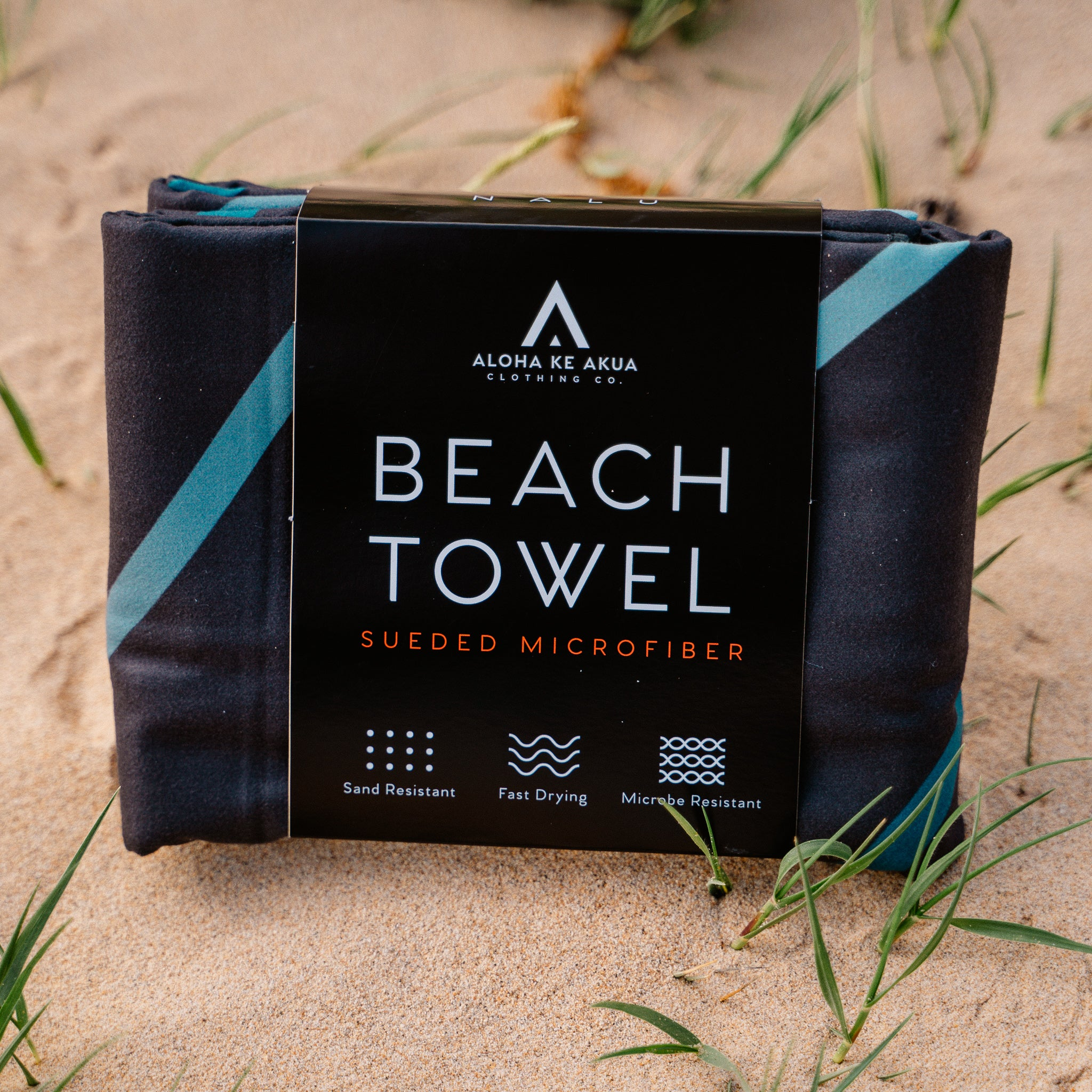 Nalu Beach Towel Packaging