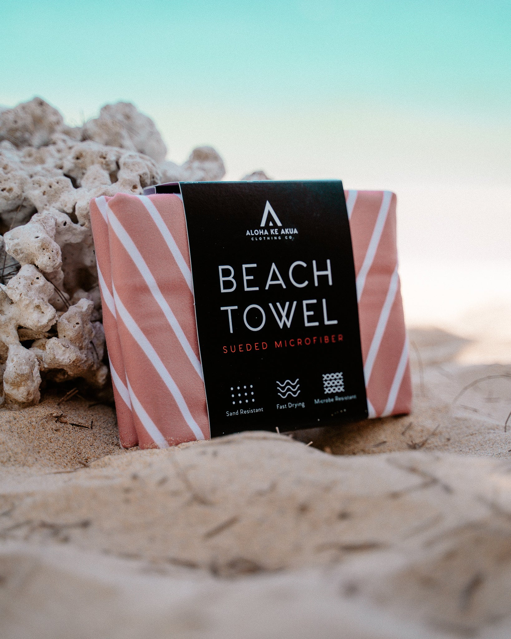 Beach Towel Kaimana In Packaging