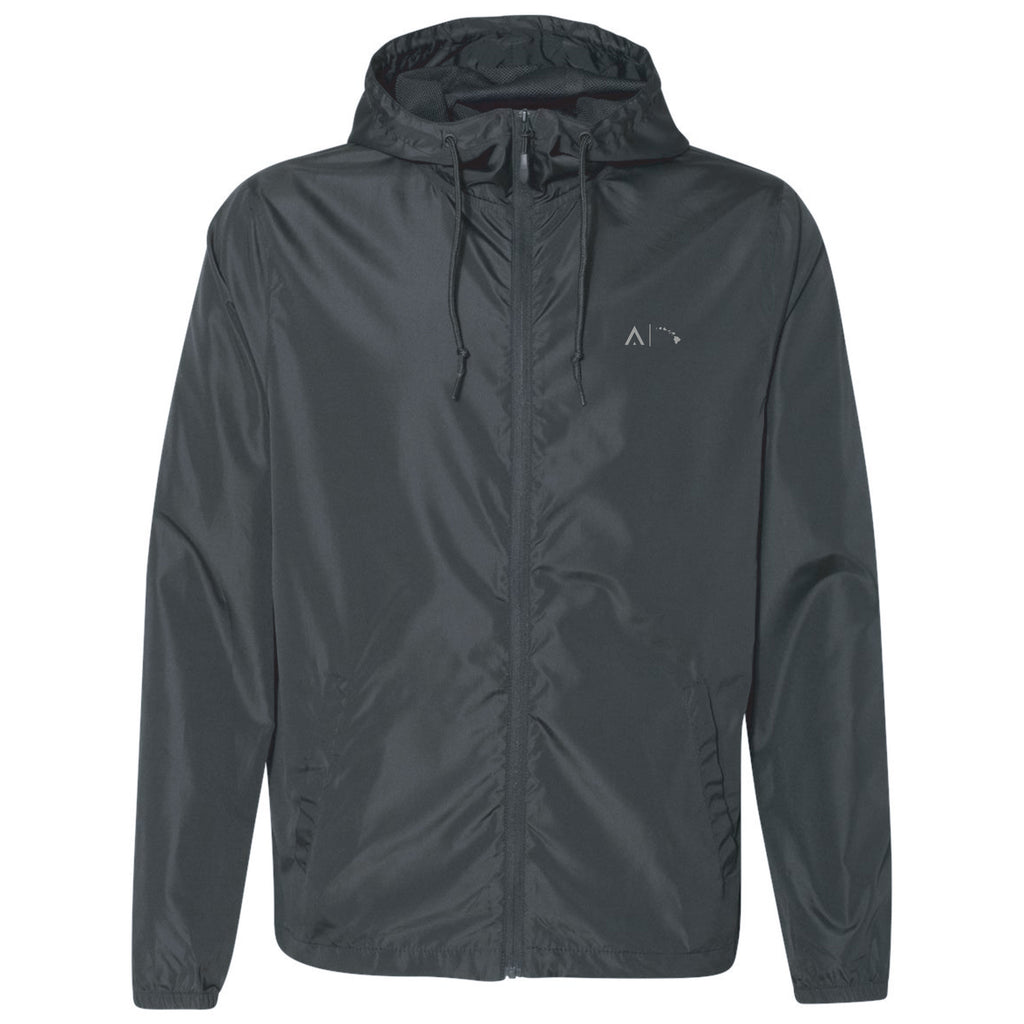 Feather Windbreaker Black Front