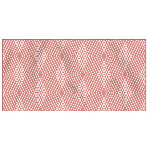Kaimana Beach Towel Front Pattern (Daimond)