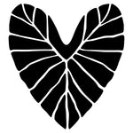 Kalo Heart Sticker Black