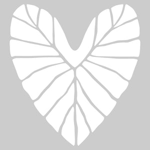 Kalo Heart Sticker White