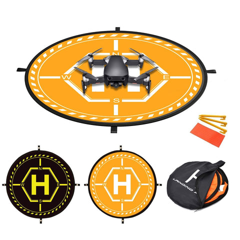 36 inch RC Drone Waterproof Collapsible Foldable Landing Pad for DJI Drones - F/Stop Labs