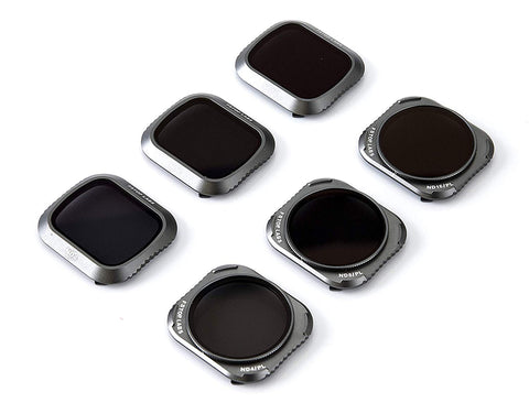 Lens Filters for DJI Mavic 2 Pro Camera Lens Set (6 Pack) ND4, ND8, ND16, ND4/CPL, ND8/CPL, ND16/CPL - F/Stop Labs