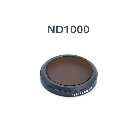 ND1000 Lens Filter for DJI Mavic 2 Zoom Camera Lens, Multi Coated Filters Pack Accessories - F/Stop Labs