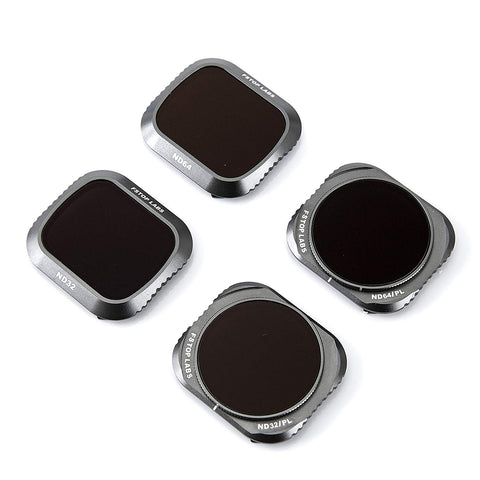 Lens Filters for DJI Mavic 2 Pro Camera Lens Set, Multi Coated Filters Pack Accessories ND32, ND64, ND32/CPL, ND64/CPL (4 Pack) Upgraded: Works with Gimbal Cover - F/Stop Labs